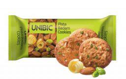 Unibic Cookies, Pista Badam, 75g Carton