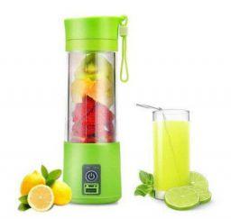 NUTRAEASE Portable USB Electric Blender Bottle Juice (Multicolour)