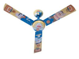 Usha Doraemon Basketball 1200mm 70-Watt Kids Ceiling Fan (Multi-Color)