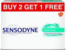 Sensodyne Deep Clean 70 g 2+1 Offer Pack