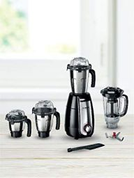 Bosch Appliances TrueMixx Pro 750-Watt Mixer Grinder with 4 Jars (Black)