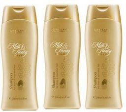 Oriflame Milk And Honey Shampoo (Pack Of 3)  (600 ml)