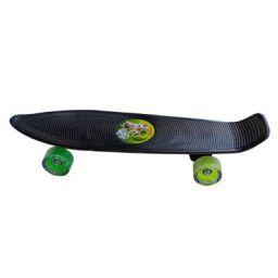Chhota Bheem Kung Fu Dhamaka Skateboard with Glow Sticker- 56cm