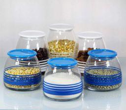Iveo Trine Family Jar Set 6 Pcs BW