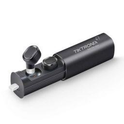 Tiktronix TWS01 Truly Wireless Bluetooth Earphones with Charging Case (Black)