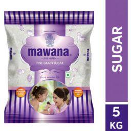 Mawana Premium Fine Grain Sugar, 5kg