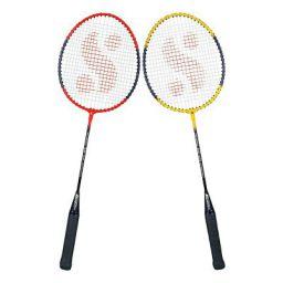 Silvers SB-100 Combo-4 (2 B/Rackets) Red-Yellow