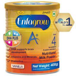 Enfagrow A+ Nutritional Milk Powder Health Drink for Children (2+ years), Vanilla 400g