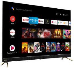 Vu 139 cm (55 inches) 4K Ultra HD Cinema Android Smart LED TV 55CA (Black)   With 40W Front Soundbar