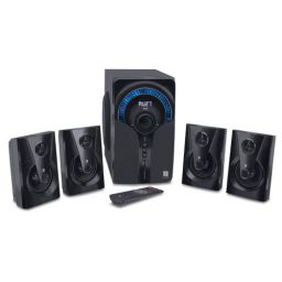 iBall Thunder 4.1 Multimedia Speaker with Bluetooth & Remote Control, Black