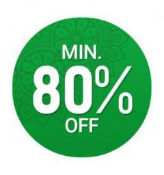 Flipkart Minimum 80% Off Zone