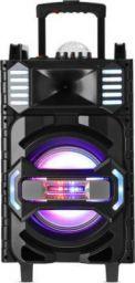 Altec Lansing AL-5001 with DJ Light & Karaoke 50 W Bluetooth Party Speaker (Black, Grey, Gold, Stereo Channel)