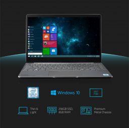 MarQ by Flipkart Falkon Aerbook Core i5 8th Gen - (8 GB/256 GB SSD/Windows 10 Home) MAi5882SWT Thin and Light Laptop  (13.3 inch, Silver, 1.26 kg)