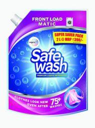 Safewash Matic Liquid Detergent Front Load 2L