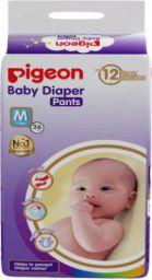 Pigeon PANTS DIAPER, MEDIUM (36 PCS) - M  (36 Pieces)