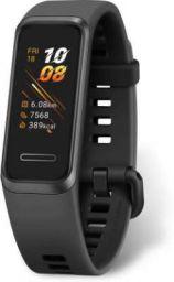 Huawei Band 4  (Black Strap, Size : Regular)