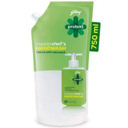Godrej Protekt Masterchef's Liquid Handwash Refill, 750 ml