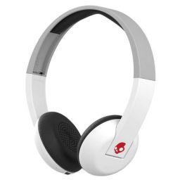 Skullcandy Uproar Wireless On-Ear Headphone with Mic (White/Grey/Red)