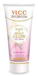 VLCC Ayurveda White and Bright Glow Gel Cream, 20g