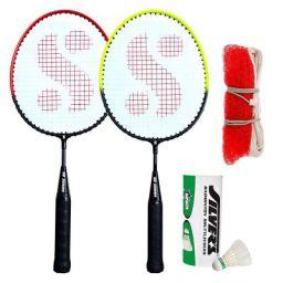 Silver's Kids SIL-Pedal Combo-6 Aluminum Badminton Set