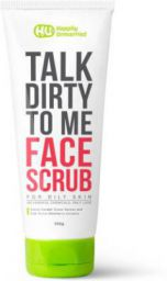 Happily Unmarried Face Scrub-Oily Skin - 100gm Scrub  (100 g)