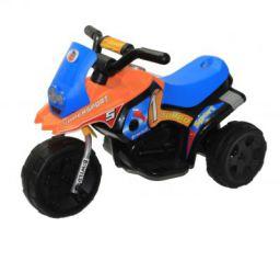Brunte Battery Operated Kids Rideon Bike Turbo Blue Orange Kids Ride-on