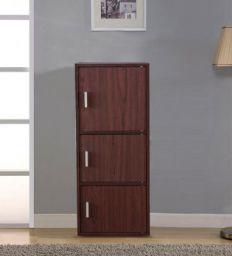 Albert Storage Cabinet in Walnut & Cherry Brown Finish by HomeTown