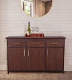 Albert Multipurpose Cabinet in Cherry Brown Finish by HomeTown