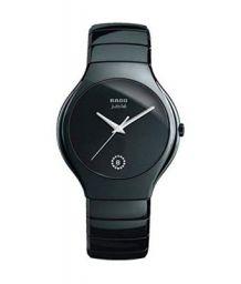 Rado Stainless Steel Analogue Black Dial Men's Watch - Luxury Jubile