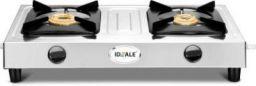 Ideale Unite 2 Burner Stainless Steel Manual Gas Stove (2 Burners)