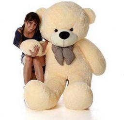 TedsTree 4 feet cream cute and soft most beautiful teddy - 117.21 cm (Cream)