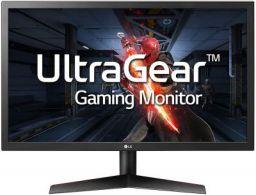 LG UltraGear 24 inch (60.96 cm) 144Hz, Native 1ms Full HD Gaming Monitor - 24GL600F (Black)