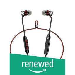 (Renewed) Sennheiser Momentum Free Special Edition - Black/Red