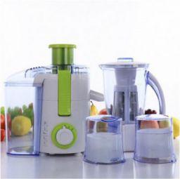 BMS Lifestyle 500FPN4 Raw Juice Machine 5 IN 1 Food Processor With 3 Jar 500 W Food Processor  (White, Green)
