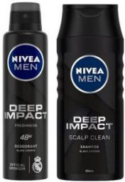 [Pre-Book] Nivea Men Deep Impact Freshness Deodorant Spray - For Men  (400 ml)