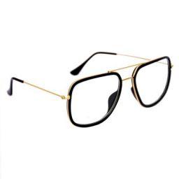 Tony Stark Iron Man Avengers Infinity War Men's Sunglasses/Spectacle Frames (Transparent)