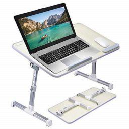 Callas Adjustable Portable Laptop Table,Desk, CA6-Black
