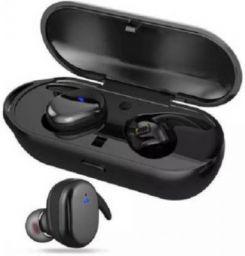 STROMBUCKS Sport Wireless v5.0 Mini Bluetooth Earbuds Bluetooth Headset with Mic  (Black, In the Ear)