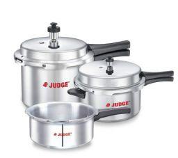 Judge by TTK Prestige 2L, 3L, 5L Induction Bottom Pressure Cooker(Aluminium)