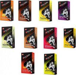 KamaSutra Honeymoon Flavoured Condom  (Set of 10, 100S)