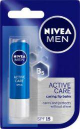 Nivea Men Care Lip Balm Natural (Pack of: 1, 4.8 g)