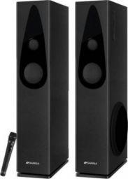 Sansui SA100WT 100 W Bluetooth Tower Speaker (Black, 2.1 Channel)