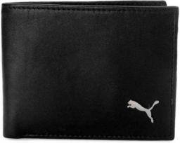 Puma Men Formal Black Genuine Leather Wallet BLACK