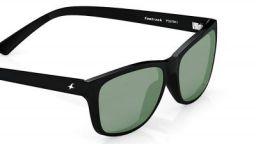 Fastrack UV protected Square Men's Sunglasses (P357BK1 41 millimetres  Smoke (Grey/Black))