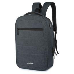 Novex 20 Ltrs Grey Laptop Backpack