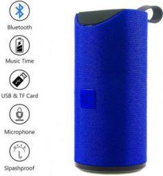 blueseed tg113 SPEAKER 10 Bluetooth Speaker (color Blue, 4.1 Channel) 15 W Bluetooth Speaker  (Blue, 4.1 Channel)