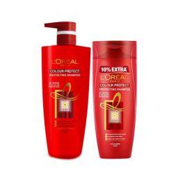 L'Oreal Paris Color Protect Shampoo, 1L (640ml+360ml) - Combo pack of 2