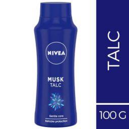 Nivea Musk Talc, 100g