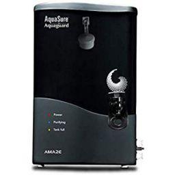 Eureka Forbes Aquasure from Aquaguard Amaze 7-Litres Table Top/Wall Mountable RO+UV+MTDS Grey Water Purifier