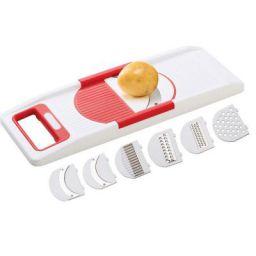 ANVEL 6 in 1 Slicer Grater - Kitchen Tool - ABS Unbreakable Body - Sharp Blades